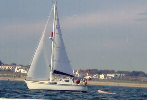 Degero 28 motorsailer for sale in Lymington