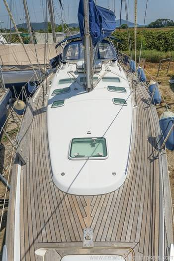 Beneteau 423 teak deck