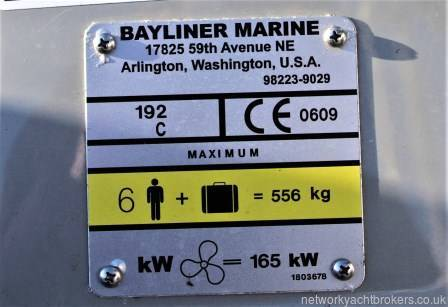 The 2006 Bayliner Discovery 192 NYB Neyland