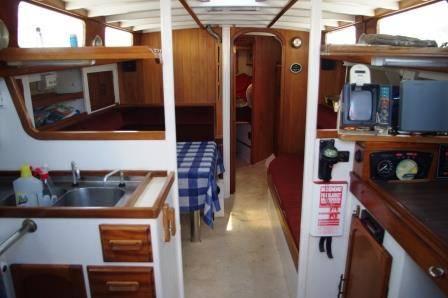 37ft Bruce Clark Boat
