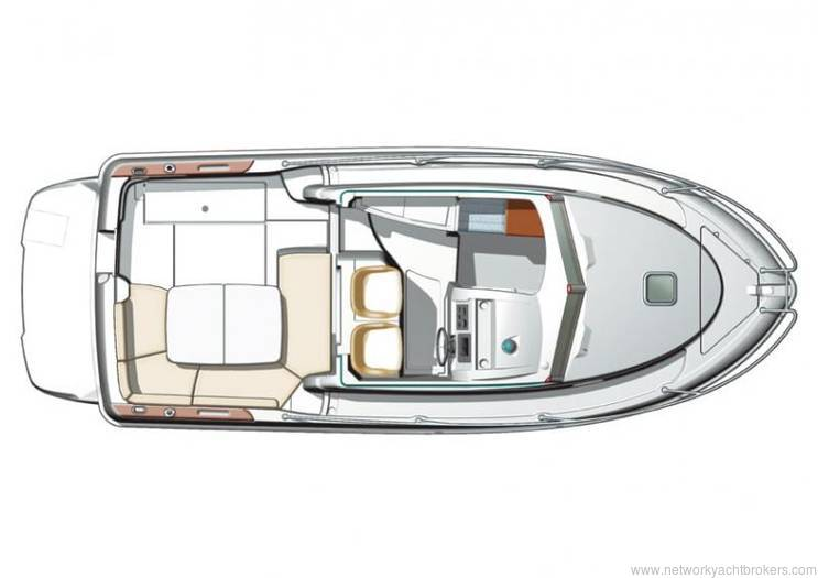 Jeanneau Merry Fisher 705 for sale £34,950 Network Yacht Brokers Neyland