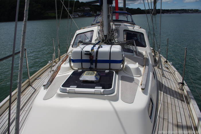 Deck view looking aft