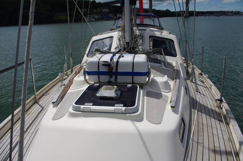 Deck view form foredeck