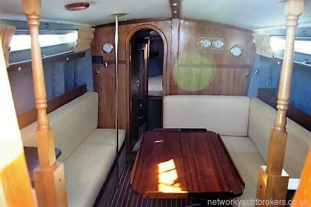 Moody 30 for sale Network Yacht Brokers Neyland
