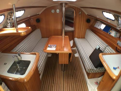 Gibsea 33 - Network Yacht Brokers Milford Haven