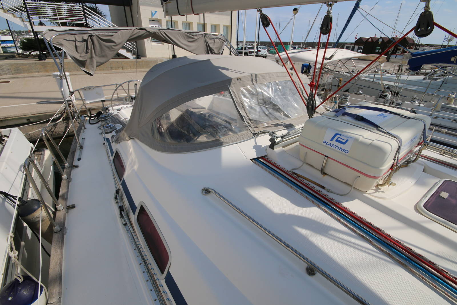 Bavaria 46 Yacht Deck on Boat 1
