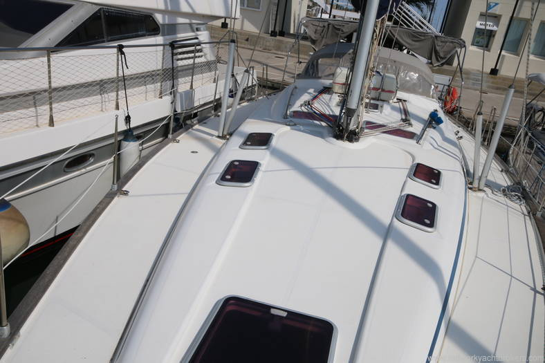 Bavaria 46 Yacht Deck on Boat 2