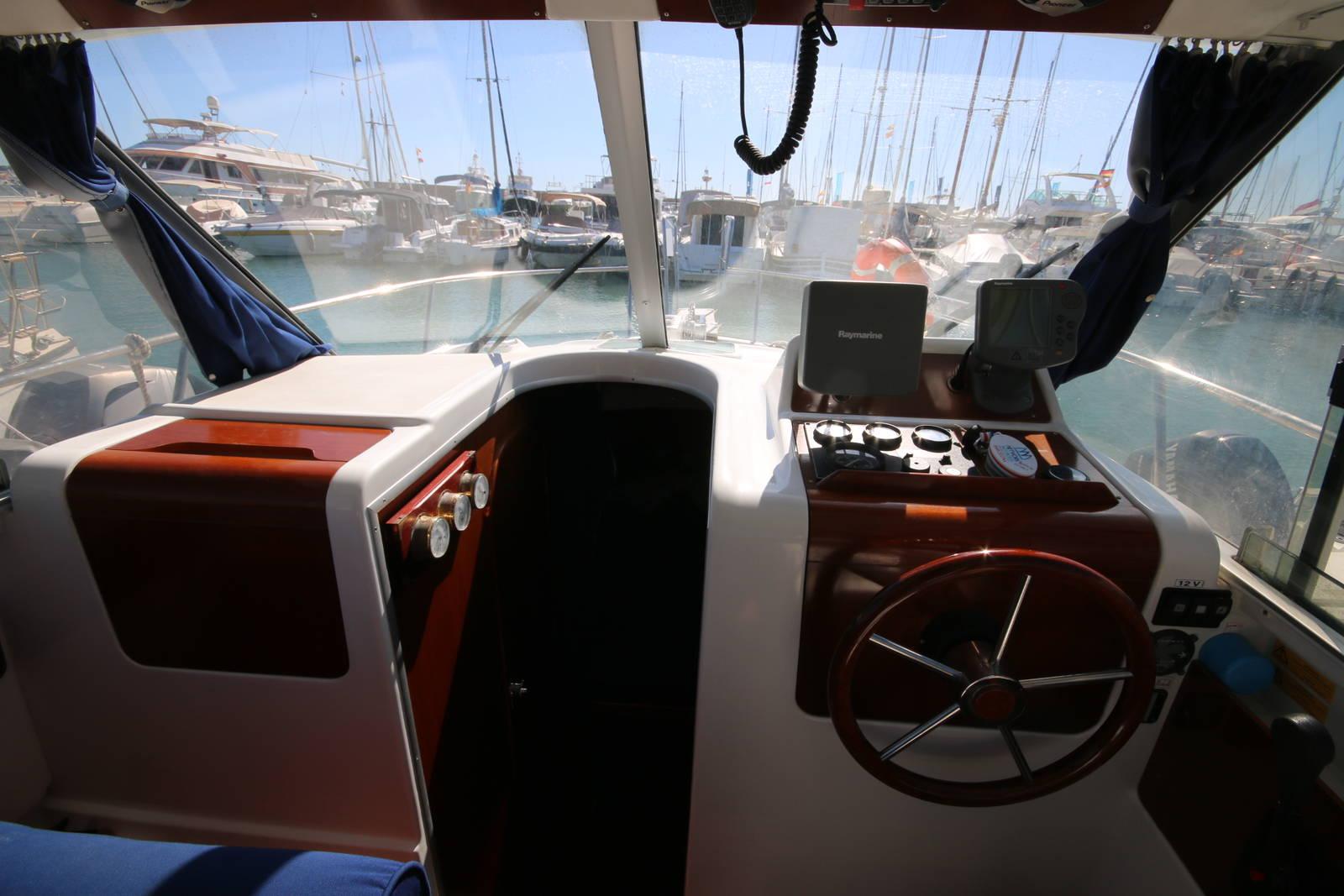 navigation control beneteau antares
