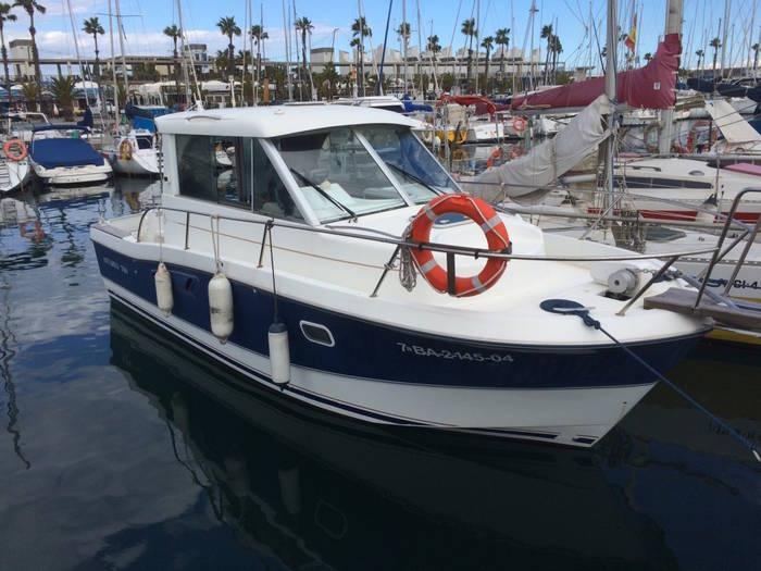 Beneteau Antares 7.60 Salacia in the dock