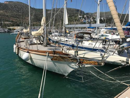 63 Foot Blue Water Ketch Yacht 1980 Cruising Yacht For Sale