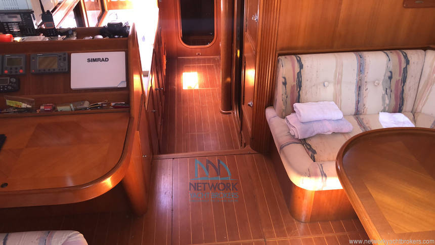charter table and saloon Belliure 50 for sale