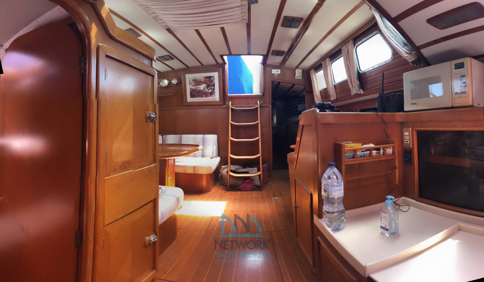view from forward area Belliure 50 for sale