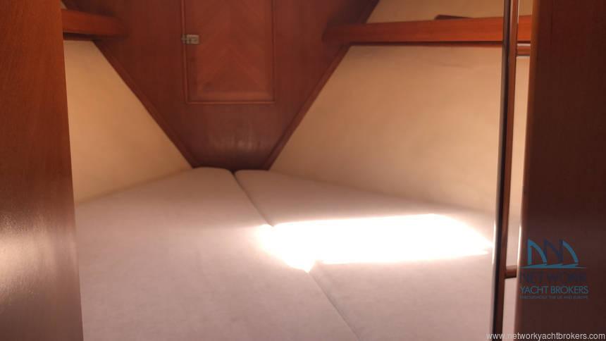 double cabin forward area Belliure 50 for sale