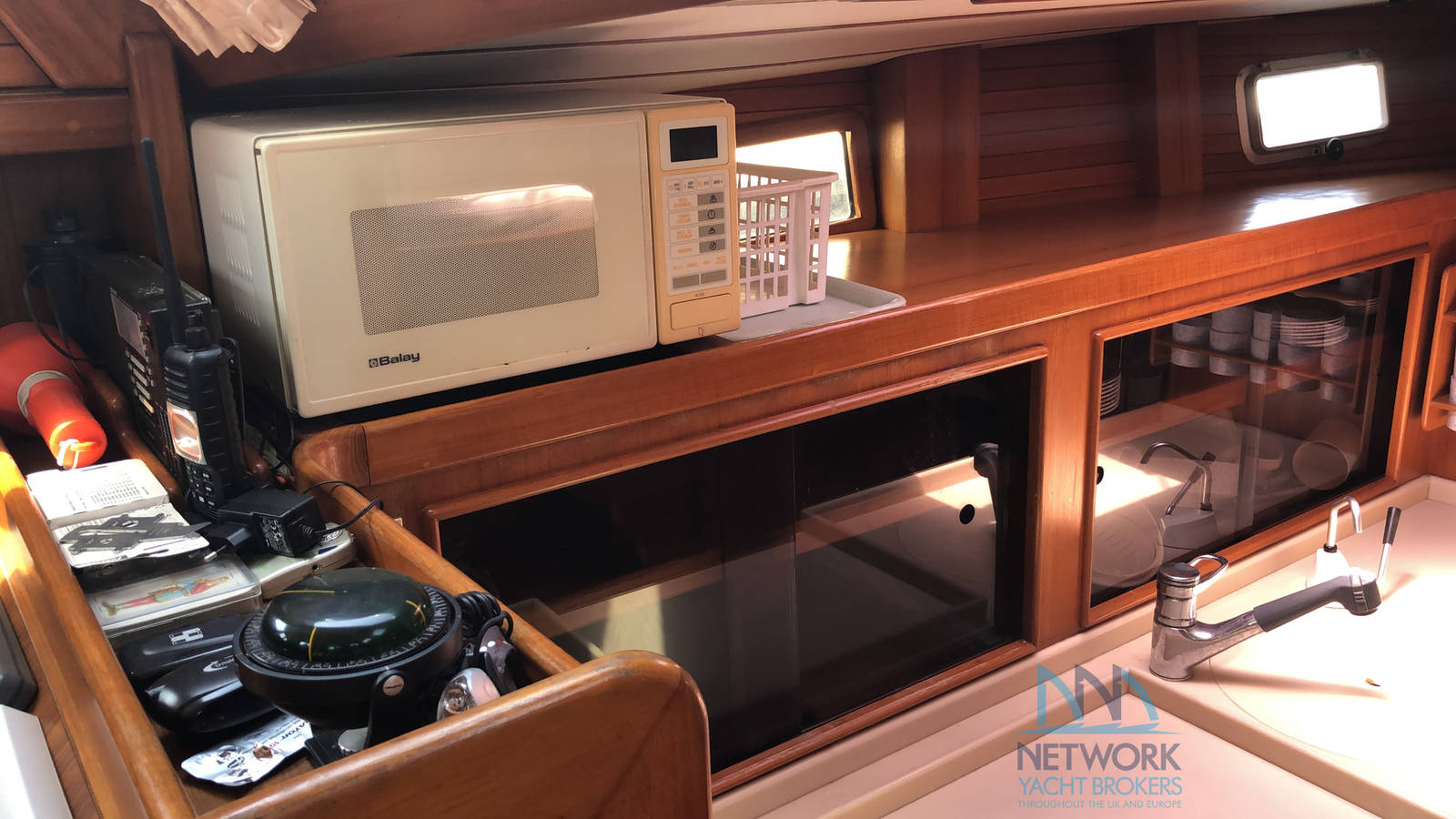 equipped galley Belliure 50 for sale