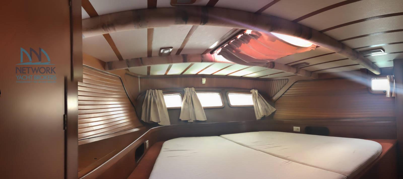 double cabin aft area  Belliure 50