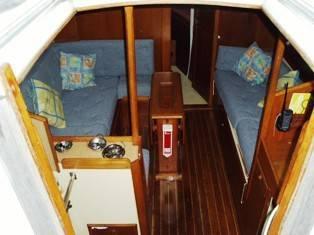 Saloon cockpit view