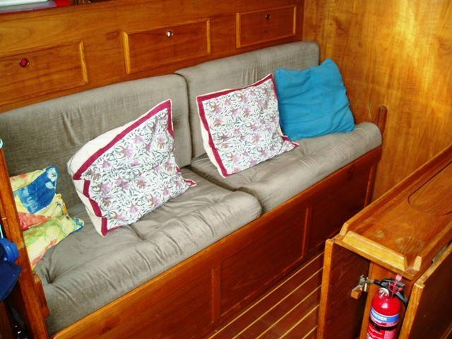 Saloon bunk