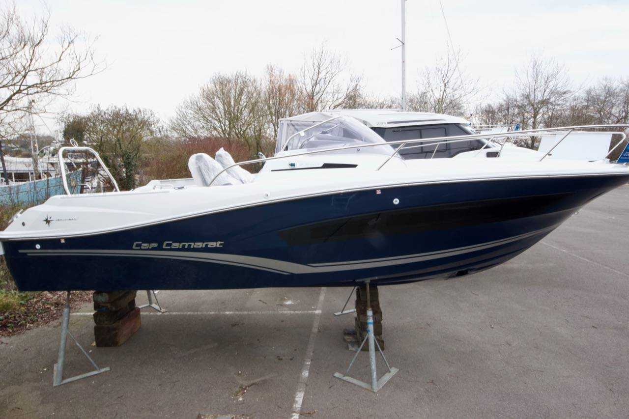 Jeanneau Cap Camarat 7 5WA Blue Hull 2019 Yacht Boat For Sale in