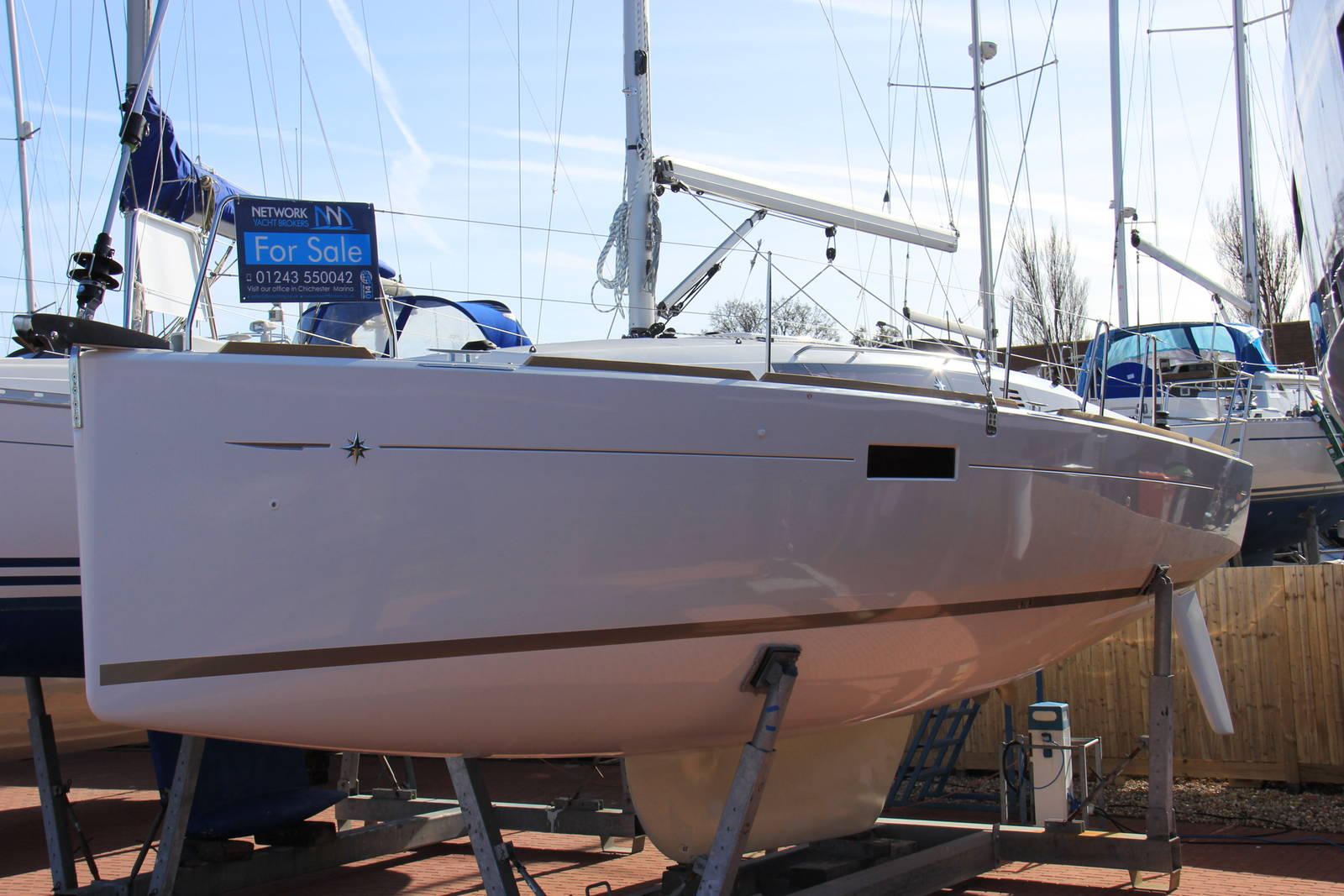 Jeanneau Sun Odyssey 349 2018 Cruising Yacht For Sale In Chichester