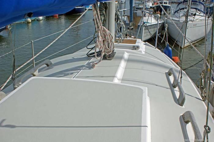 Westerly Centaur newly painted decks