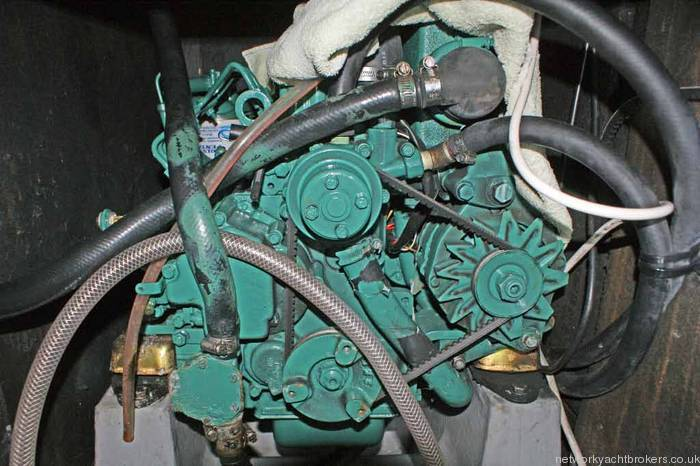 Westerly Regatta 310 engine Volvo 18hp