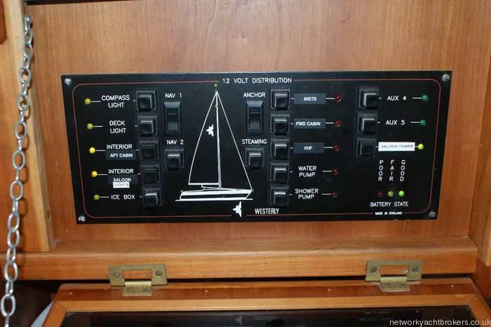 Westerly Regatta 310 Instruments