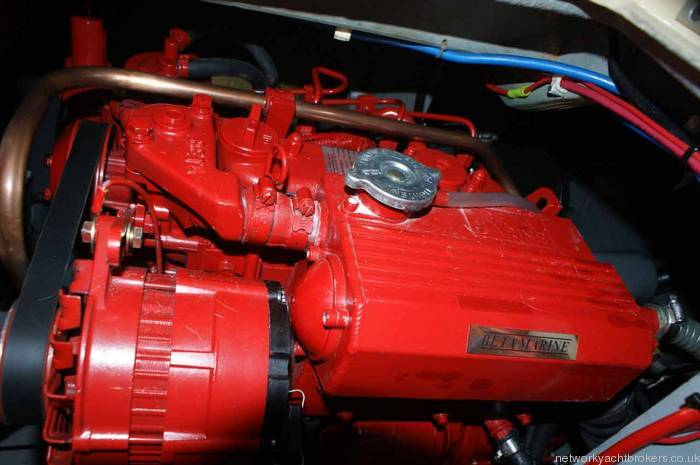 Westerly Konsort Duo engine
