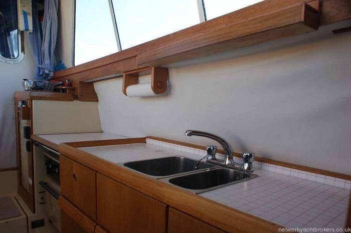 Westerly Konsort Duo galley