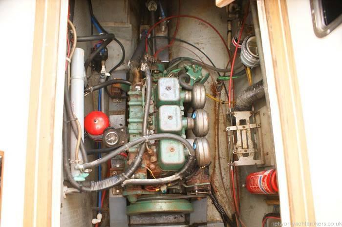 Fisher 31 motor sailor engine