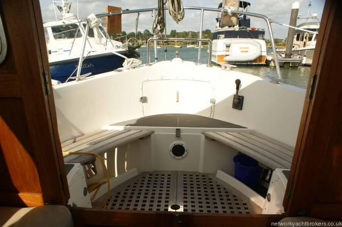 Fisher 31 motor sailor