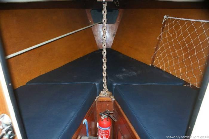 Van Der Stadt 8m Offshore Front cabin