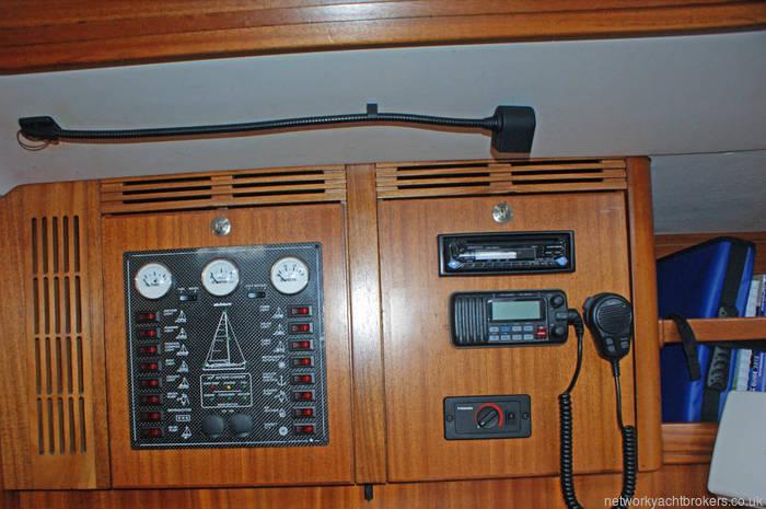Elan 40 control panel