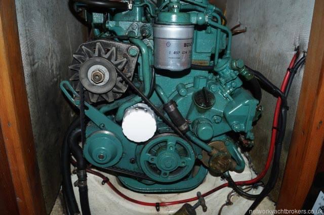 Freedom 35 ketch  engine
