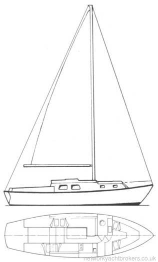 Westerly Berwick 31 ft bilge keel yacht for sale