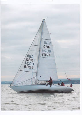 30 ft racing yacht Javlin 30