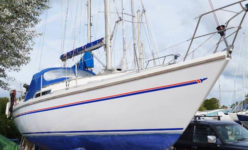 Bilge keel yacht Sadler 29