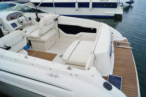 21ft motor cruiser sea ray 215 for sale