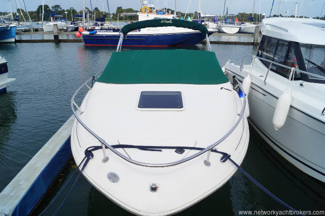 Sea Ray 215 express cruiser for sale in Lymington Hampshire
