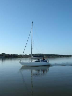 27ft sailing boat Hunter Horizon