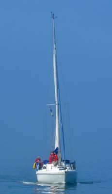 bilge keel yacht 27ft hunter horizon for sale