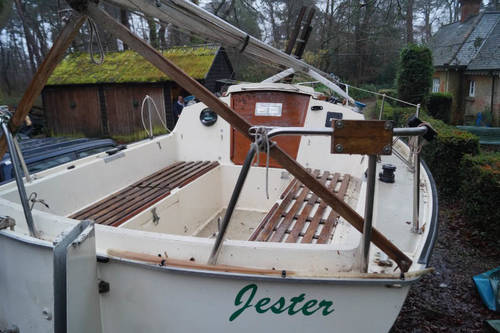21ft lift keel sailing boat for sale