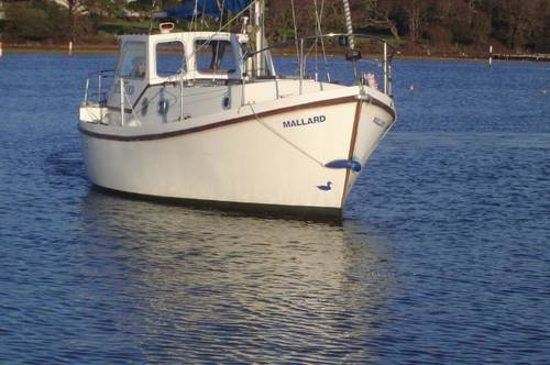 classic fishing boat style motor sailor for sale