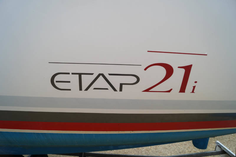 Etap 21 for sale with good road trailer