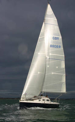 racing sail boat 8m for sale