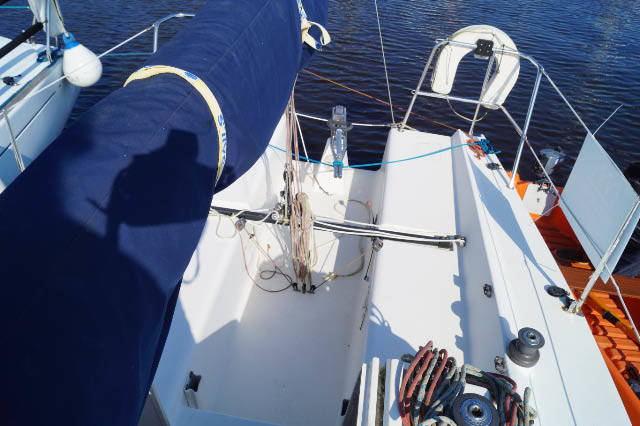 27ft Racing sail boat for sale in Lymington