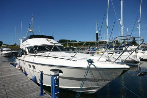 Colvic Sunquest 44 flybridge yacht conwy, wales