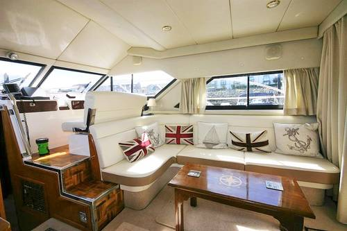 colvic sunquest 44 flybridge yacht, NYB conwy, wales