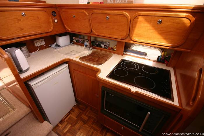 Colvic Sunquest 44 flybridge yacht for sale, NYB Conwy, Wales
