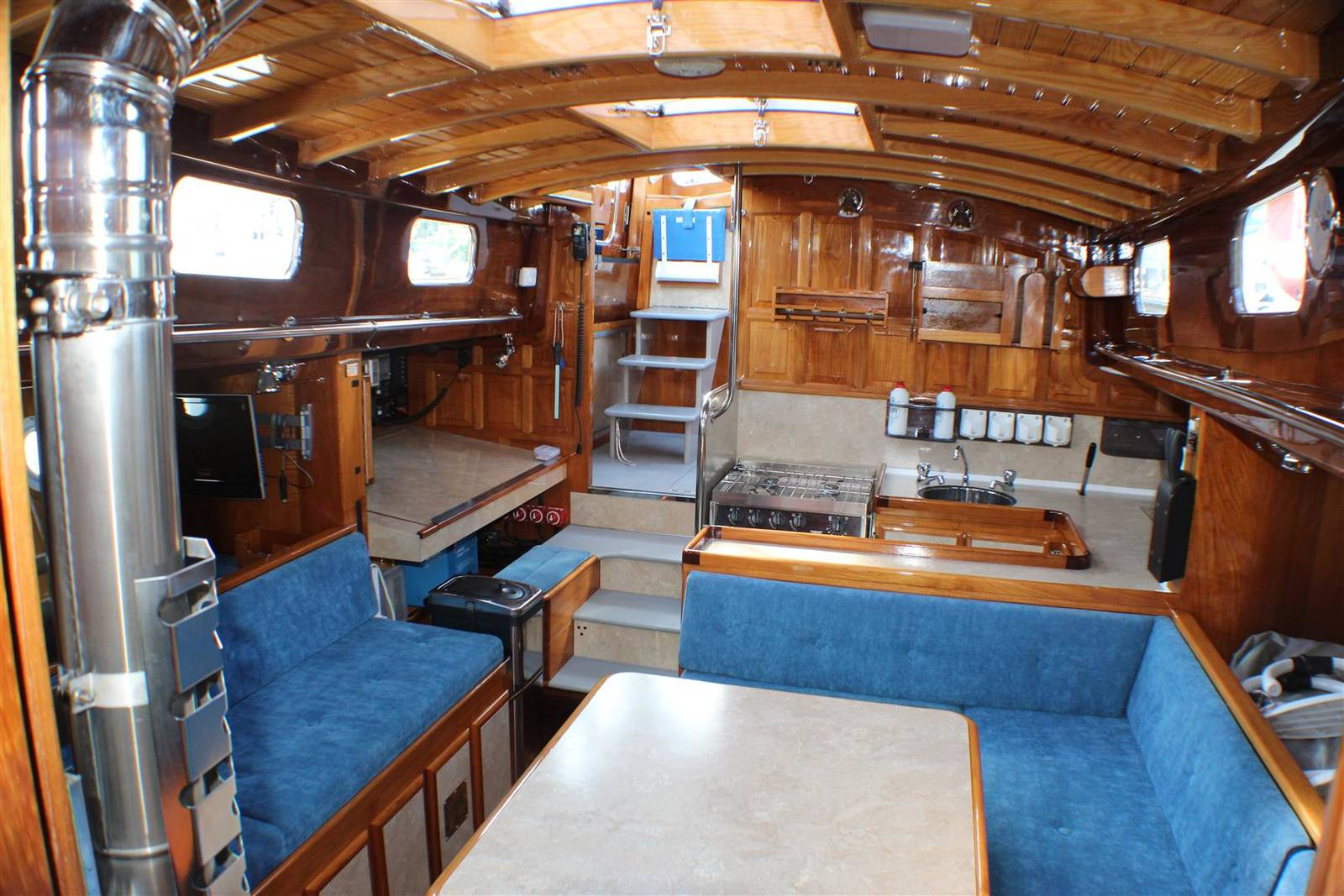 Drive A Tank >> J Francis Jones Ketch Motor-Sailer 1962 Motorsailer For Sale in Ashore Conwy Marina - £211,500