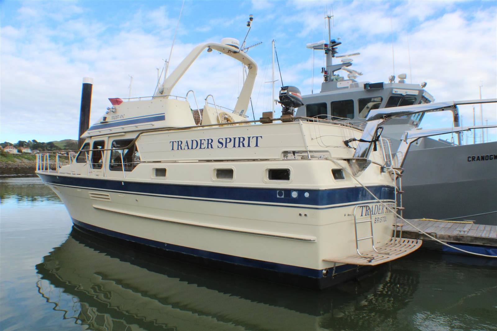 Trader 41+2 1987 Yacht Boat For Sale in Conwy Marina, North